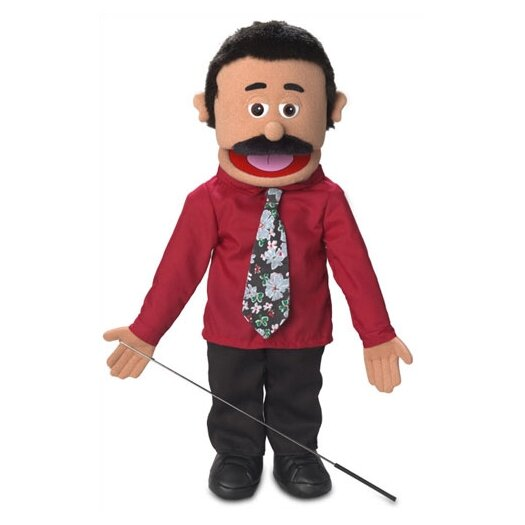 """Silly Puppets 25"""" Carlos Full Body Puppet"""