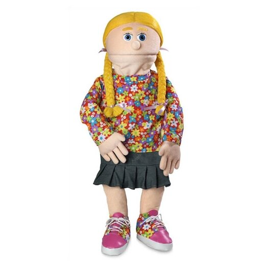 """Silly Puppets 30"""" Cindy Professional Puppet with Removable Legs in Peach"""