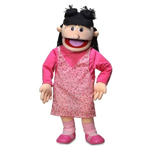 "Silly Puppets 30"" Susie Professional Puppet with Removable Legs"