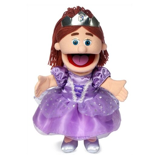 "Silly Puppets 14"" Princess Glove Puppet"