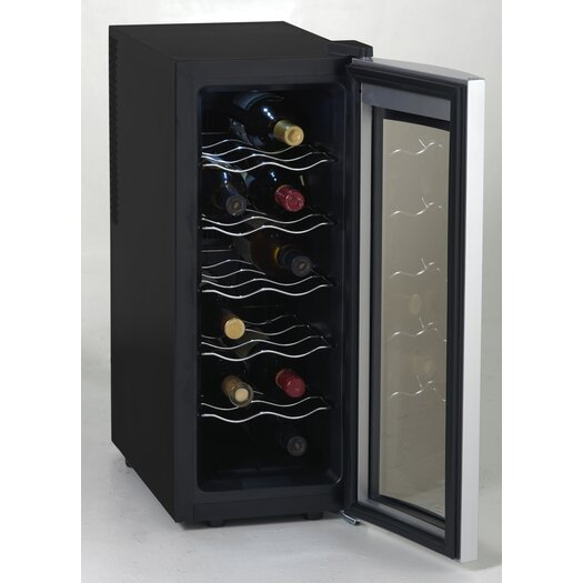 Avanti Products 12 Bottle Single Zone Thermoelectric Wine Refrigerator