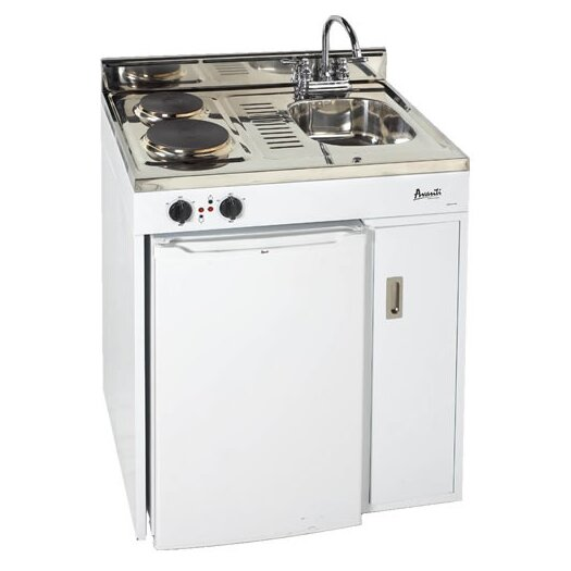 Avanti Products 3.0 Cu. Ft. Complete Compact Kitchen