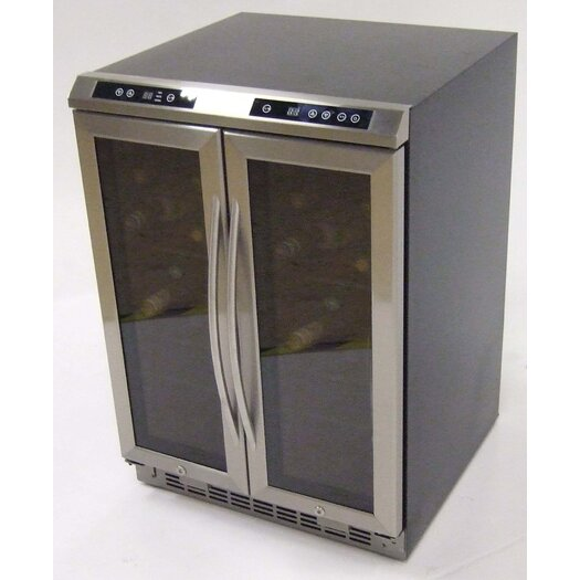 Avanti Products 38 Bottle Dual Zone Wine Refrigerator