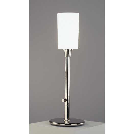 "Robert Abbey Nina Torchiere 26.5"" H Table Lamp with Drum Shade"