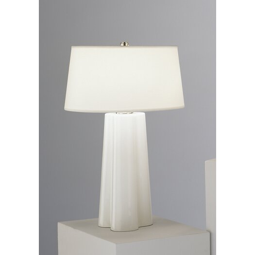 "Robert Abbey Wavy 26.5"" H Table Lamp with Square Shade"