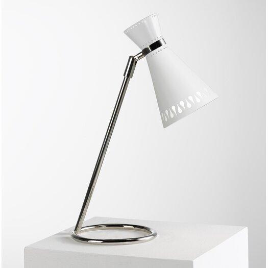 "Robert Abbey Jonathan Adler Havana Task Adjustable 16.5"" H Table Lamp with Empire Shade"