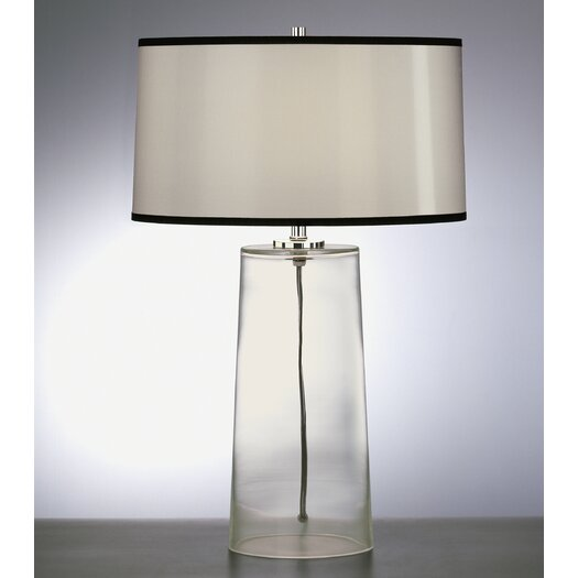 """Robert Abbey Rico Espinet Olinda 22.75"""" H Table Lamp with Drum Shade"""