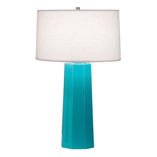 "Robert Abbey Isis 26"" H Table Lamp with Drum Shade"