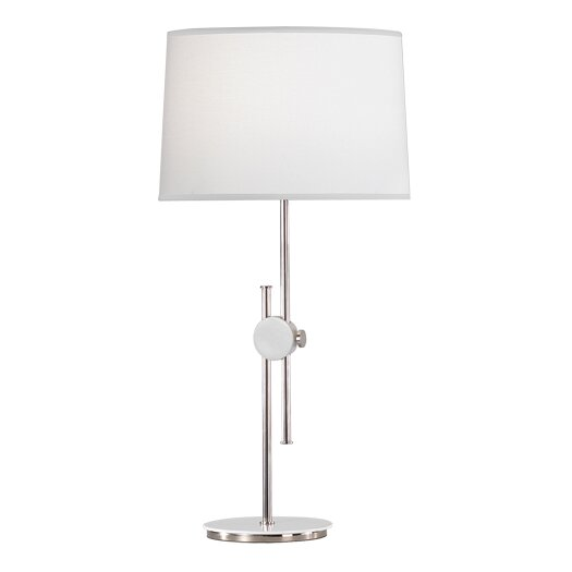 "Robert Abbey Spot Telescoping Adjustable 23"" H Table Lamp with Drum Shade"
