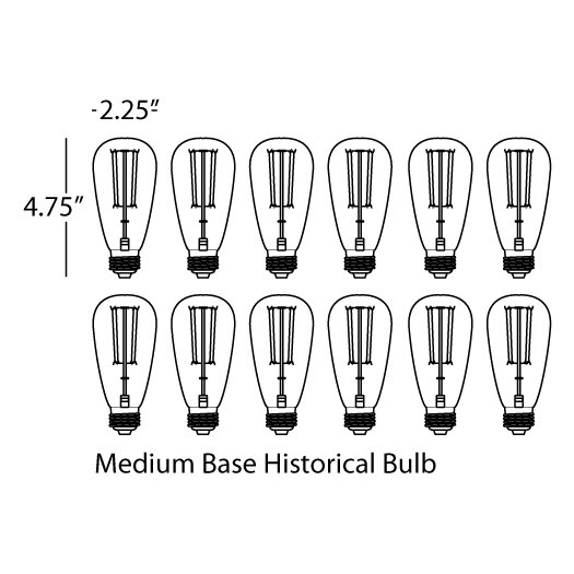 Robert Abbey Candelaria Light Bulb