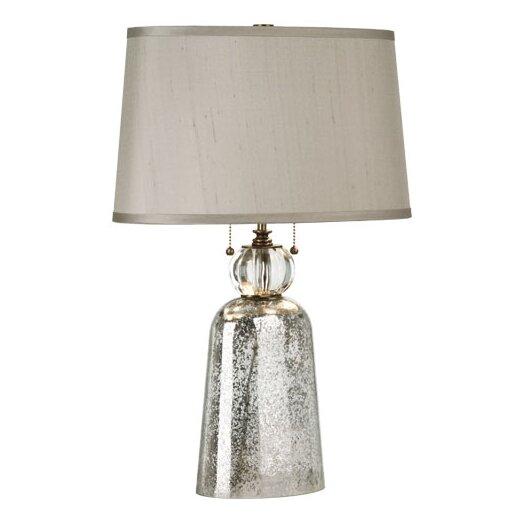 "Robert Abbey Gossamer 24.5"" H Table Lamp with Empire Shade"