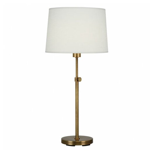 "Robert Abbey Koleman 34.25"" H Table Lamp with Drum Shade"