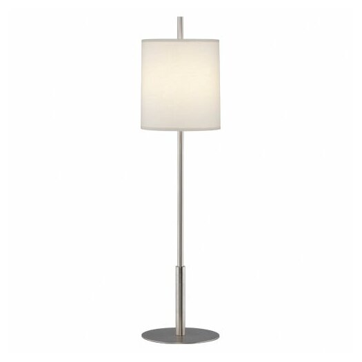 """Robert Abbey Echo 32.5"""" H Buffet Table Lamp with Drum Shade"""