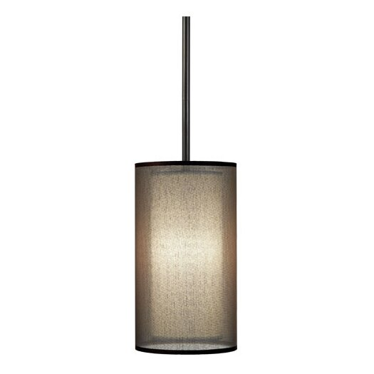 Robert Abbey Saturnia Narrow 1 Light Drum Pendant