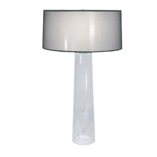 "Robert Abbey Rico Espinet Olinda 34"" H Table Lamp with Drum Shade"