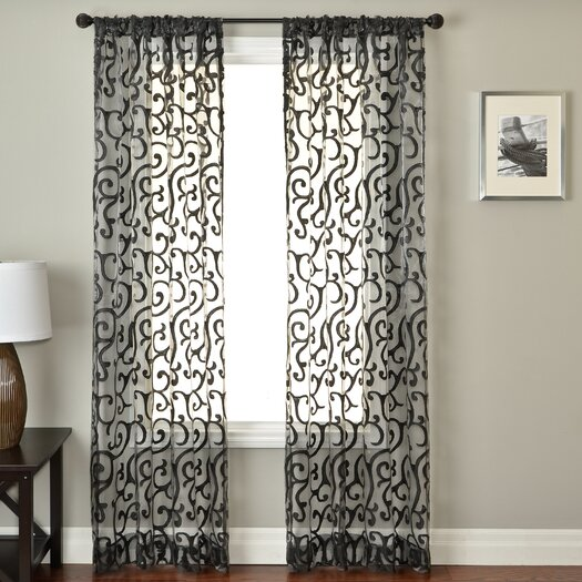 Softline Home Fashions Abel Rod Pocket Curtain Panel