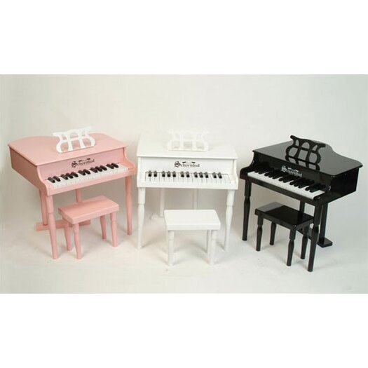 Schoenhut 30 Key Classic Baby Grand Piano in Pink