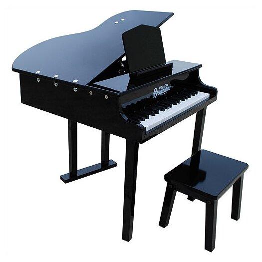 Schoenhut Concert Grand Piano with Opening Top in Black