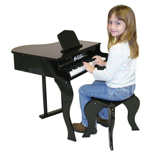 Schoenhut Elite Baby Grand Piano in Black