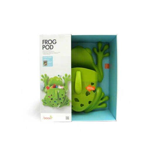 Boon Frog Pod Bath Toy Scoop in Green