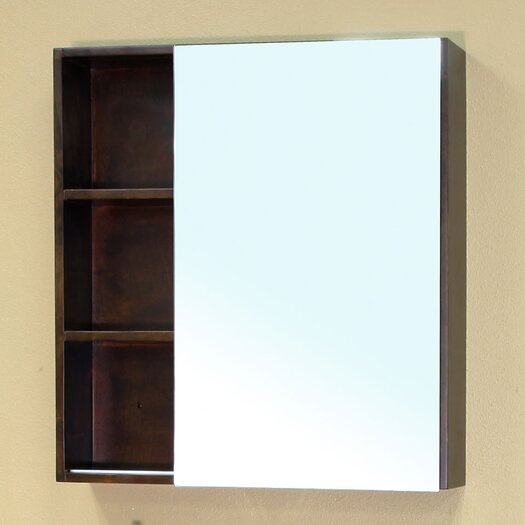 """Bellaterra Home Langdon 29.5"""" x 31.5"""" Surface Mounted Medicine Cabinet"""