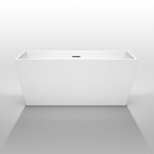 "Wyndham Collection Sara 59"" x 31.5"" Soaking Bathtub"