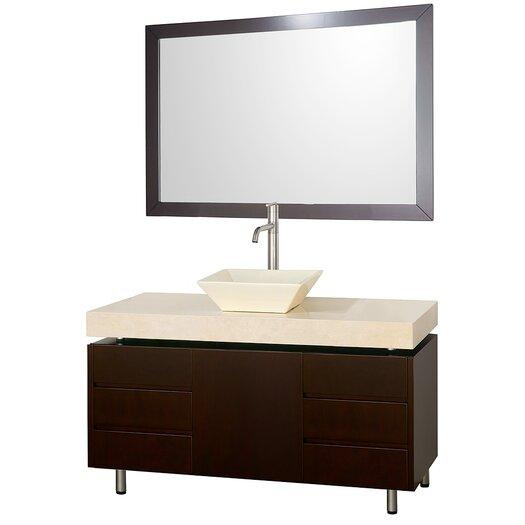 "Wyndham Collection Malibu 48"" Bathroom Vanity Set"