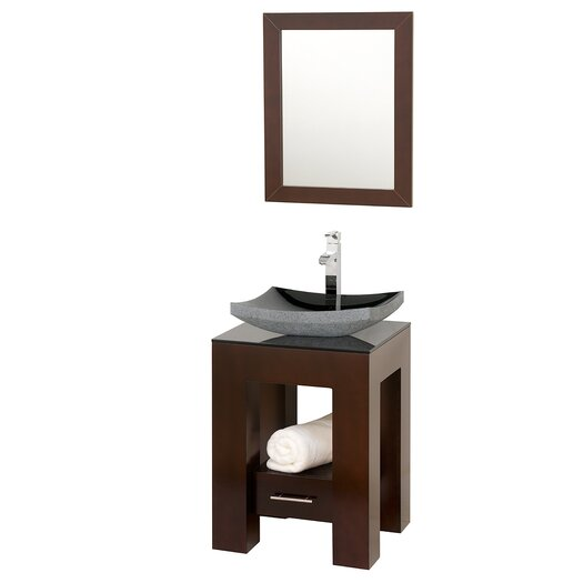 "Wyndham Collection Amanda 23"" Bathroom Vanity Set with Single Sink"