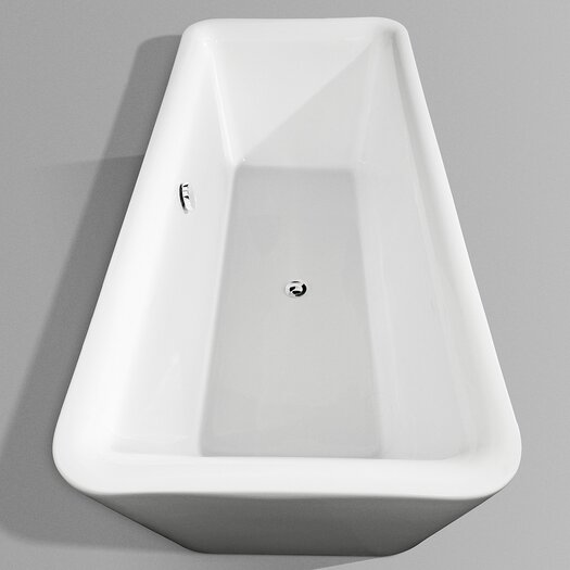 "Wyndham Collection Emily 69"" x 31"" Bathtub"