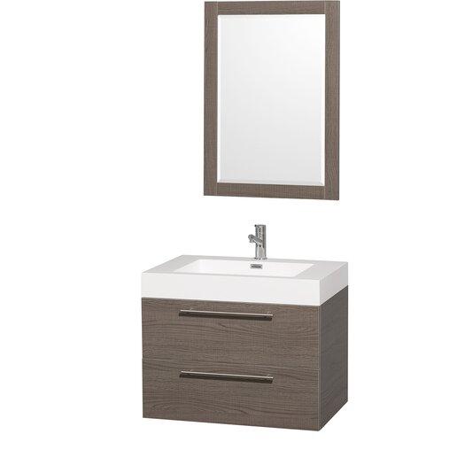 "Wyndham Collection Amare 29"" Bathroom Vanity Set with Single Sink"