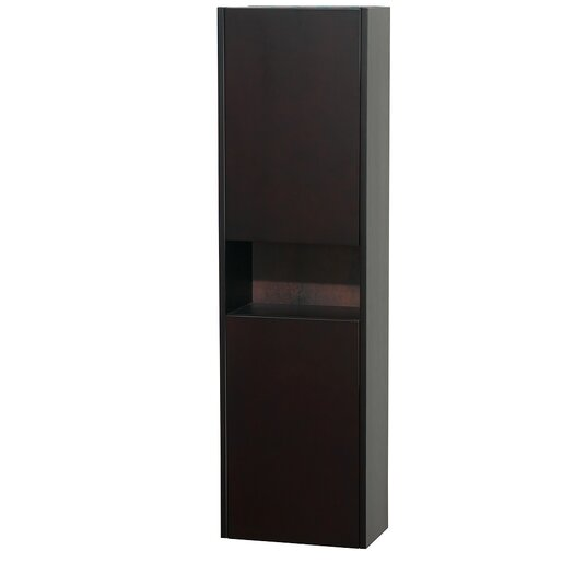 """Wyndham Collection Diana 16.12"""" x 56.12"""" Wall Mount Linen Tower"""