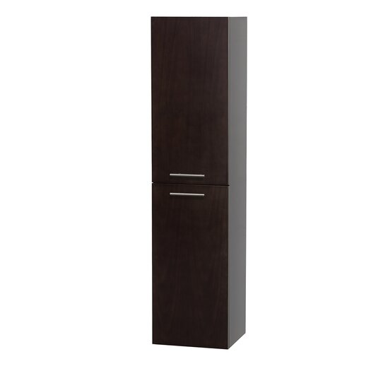 """Wyndham Collection Bailey 13.5"""" x 56"""" Wall Mount Linen Tower"""