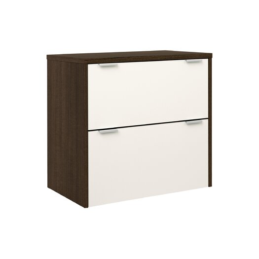 Bestar Contempo 2 Drawer Filing Cabinet