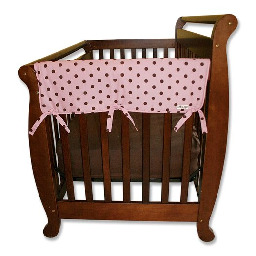 "Trend Lab 2 Pack of Maya Dot 27"" Side Crib Rail Covers"