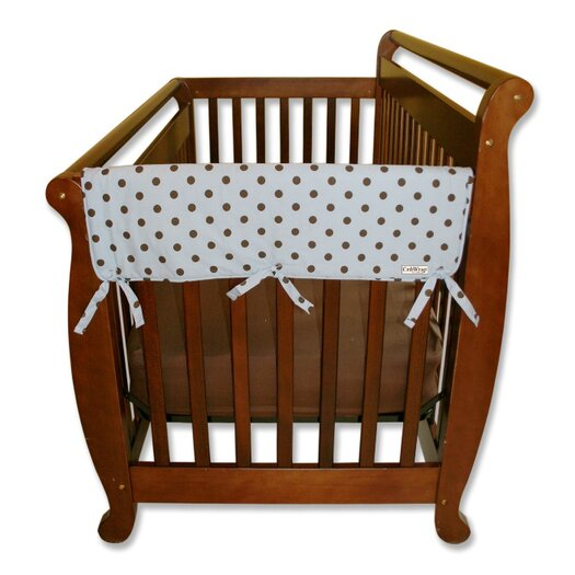 """Trend Lab 2 Pack of Max Dot 27"""" Side Crib Rail Covers"""