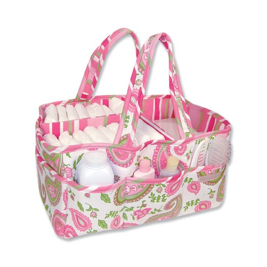 Trend Lab Storage or Diaper Caddy in Paisley Park