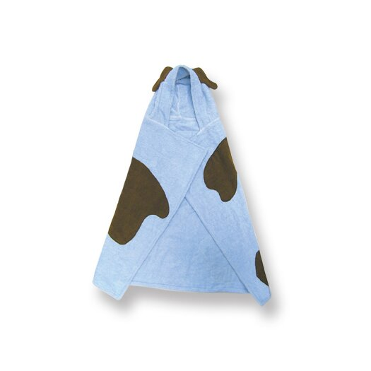 Trend Lab Terry Velour Blue Puppy Hooded Towel