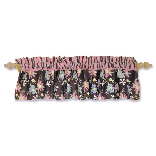 "Trend Lab Blossoms 82"" Curtain Valance"