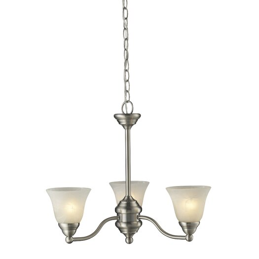 Z-Lite Athena 3 Light Chandelier