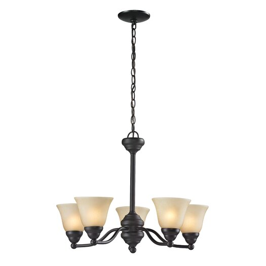 Z-Lite Athena 5 Light Chandelier