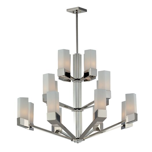 Z-Lite Zen 16 Light Mini Chandelier