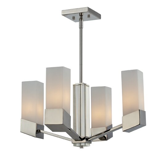 Z-Lite Zen 4 Light Chandelier
