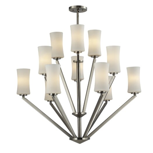 Z-Lite Elite 12 Light Chandelier
