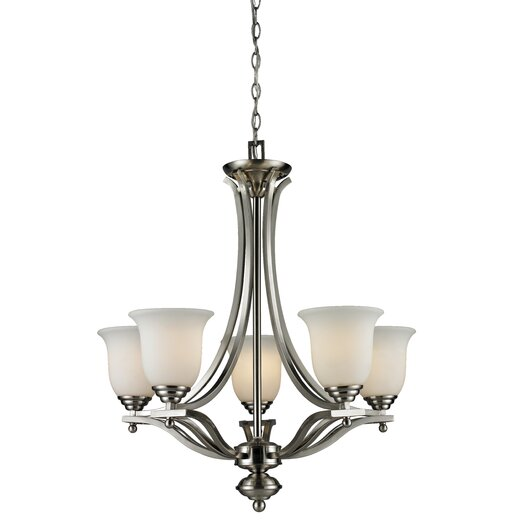 Z-Lite Lagoon 5 Light Mini Chandelier