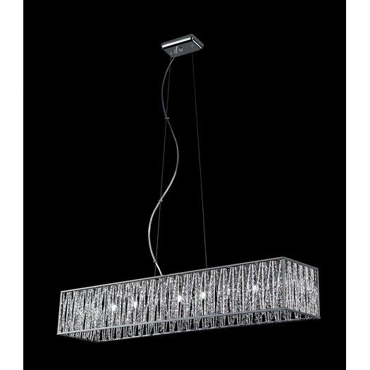 Z-Lite Terra 9 Light Kitchen Pendant Lighting