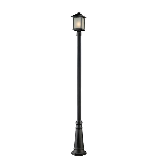 Z-Lite Holbrook 1 Light Outdoor Post Lantern Set