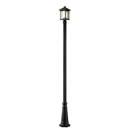 Z-Lite Mesa 1 Light Outdoor Post Lantern Set
