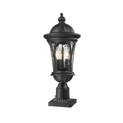 Z-Lite Doma 4 Light Outdoor Post Lantern Set