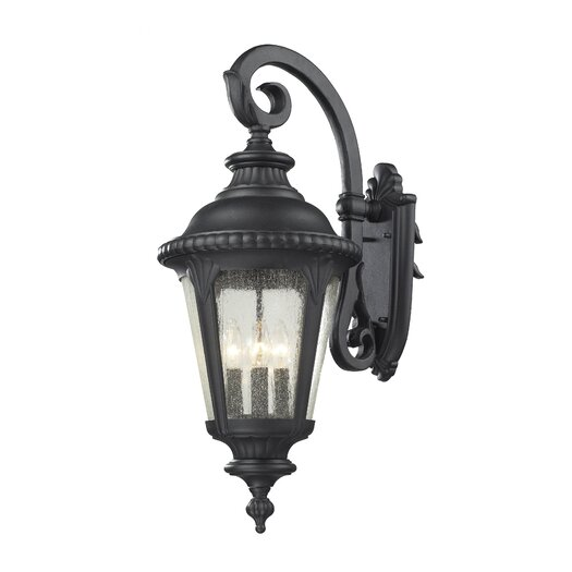 Z-Lite Medow 4 Light Outdoor Wall Lantern