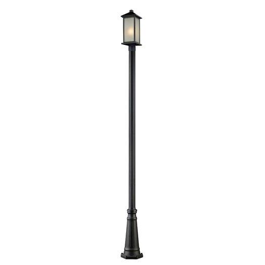 Z-Lite Vienna 1 Light Outdoor Post Lantern Set